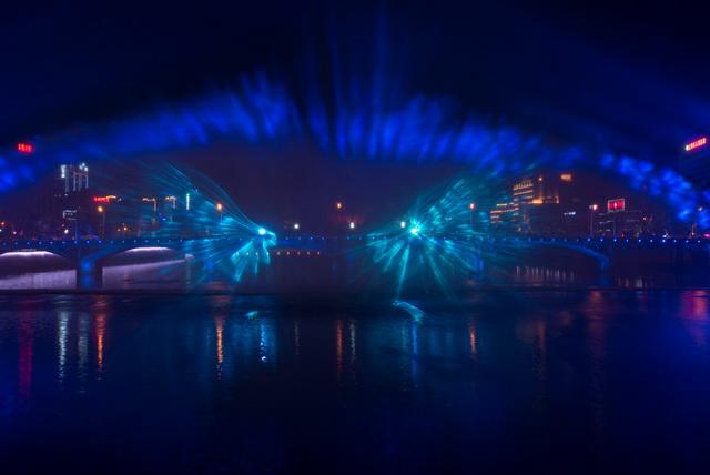 上饶中心城区及一江两岸夜景亮化提升