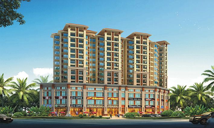 海南省珠云恩公寓項目
