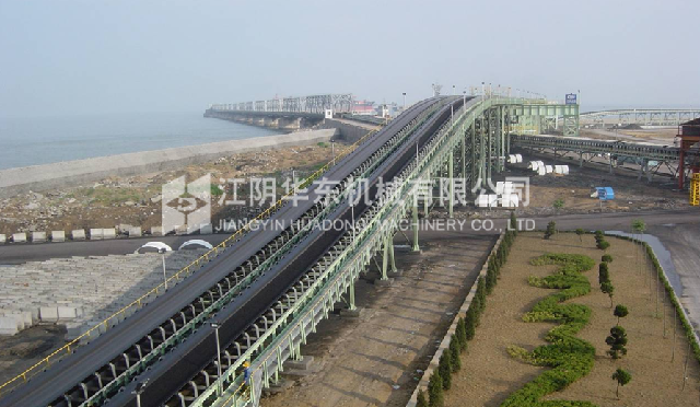 寶鋼廣東湛江鋼鐵基地原料工程