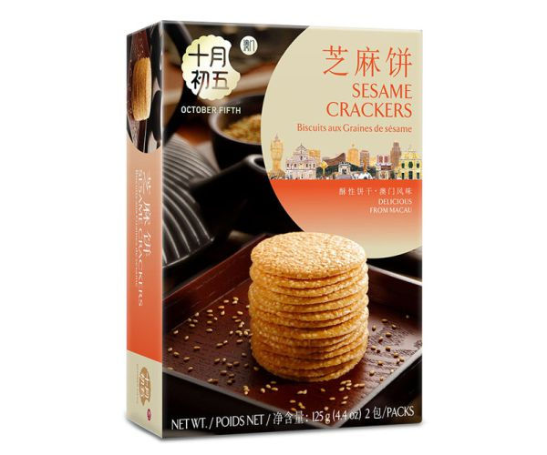 125gX24 Sesame Crackers