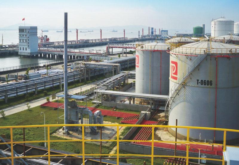 东莞市百安石化仓储有限公司储罐─期、二期工程项目