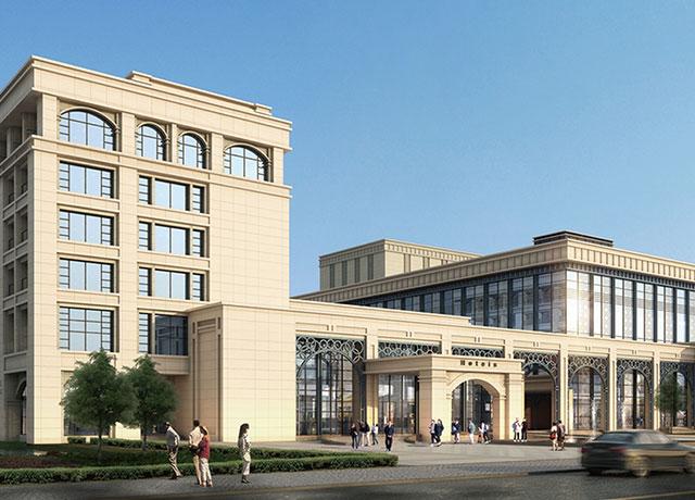 澳门大学新校区发展新项目中央行政楼、文化及交流中心