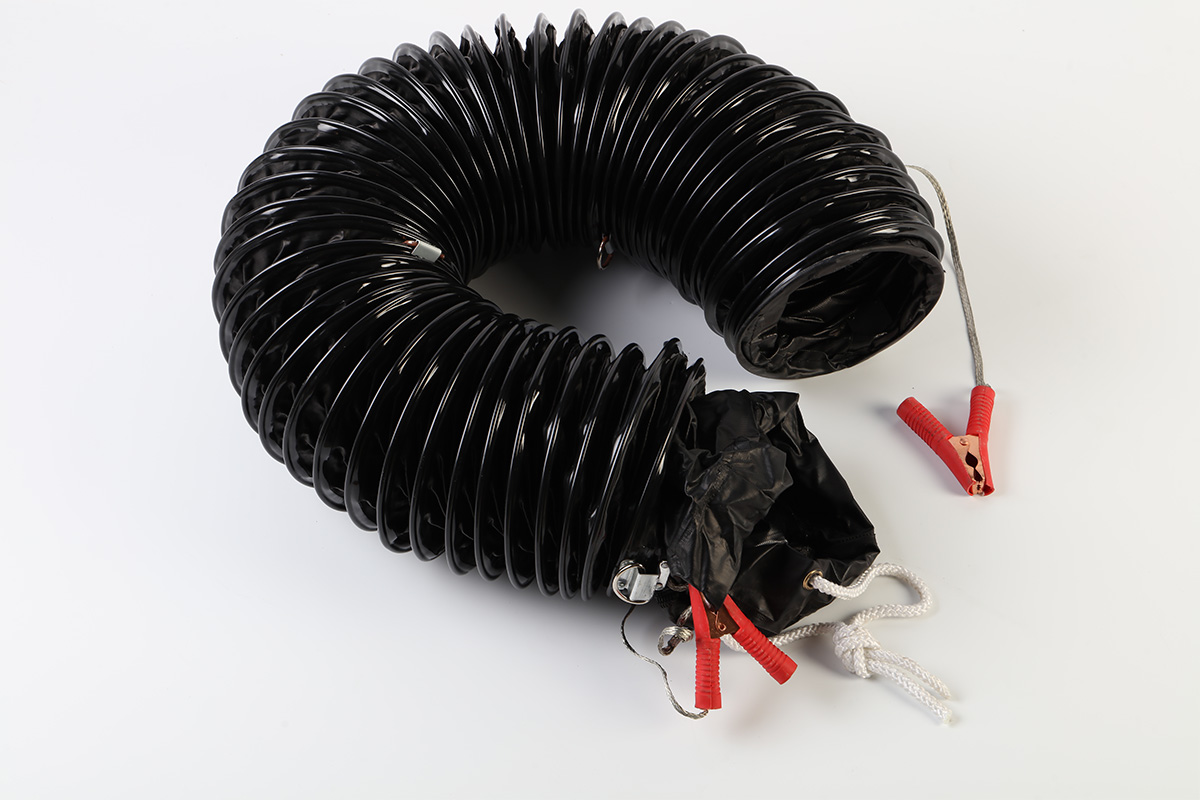 High temperature resistant soft connection with longer service life