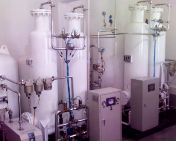 Oxygen Supply System in Medical Center