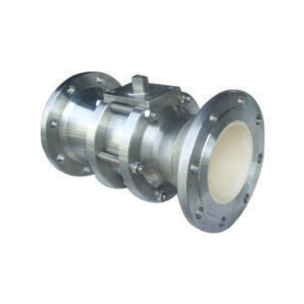 Ceramic reducing ball valve