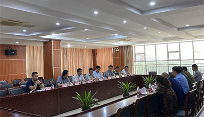 Ma Xuchun, deputy director of civil military integration office of Jiangsu Province and his delegation visit Zhongmei Cable
