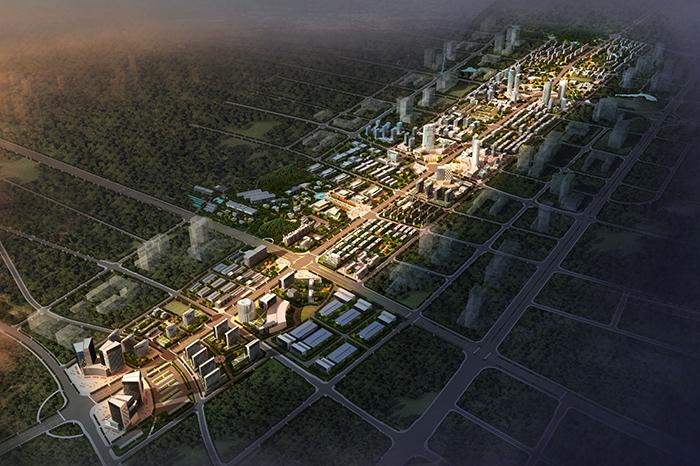 邵陽市邵陽西出入口(中山路)沿線用地城市設計
