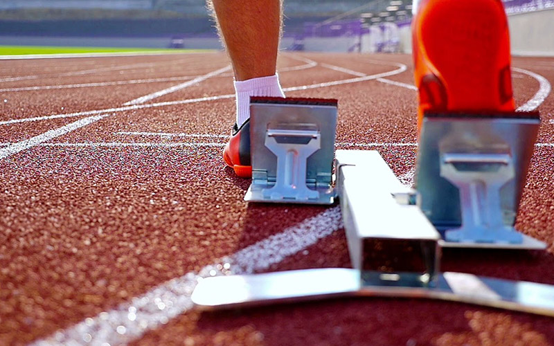 Construction standards for synthetic athletics track
