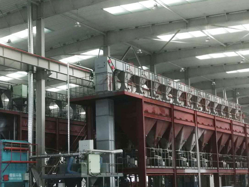 The Z-type hoist for Tangshan refractories is fully completed