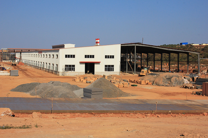 Sintered brick factory (Zambia)