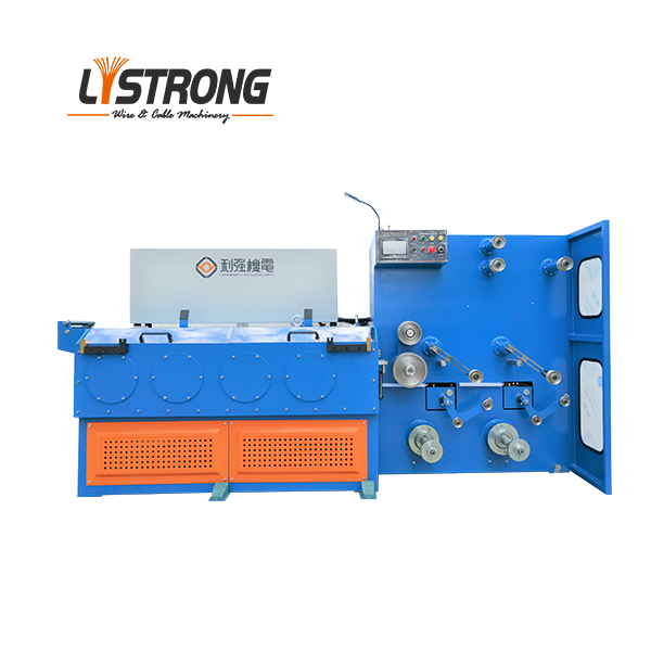 Multi steel wire drawing machine