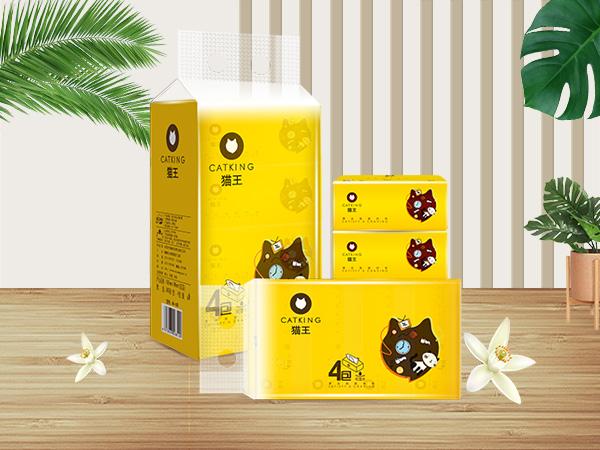 酷貓4包360張軟抽