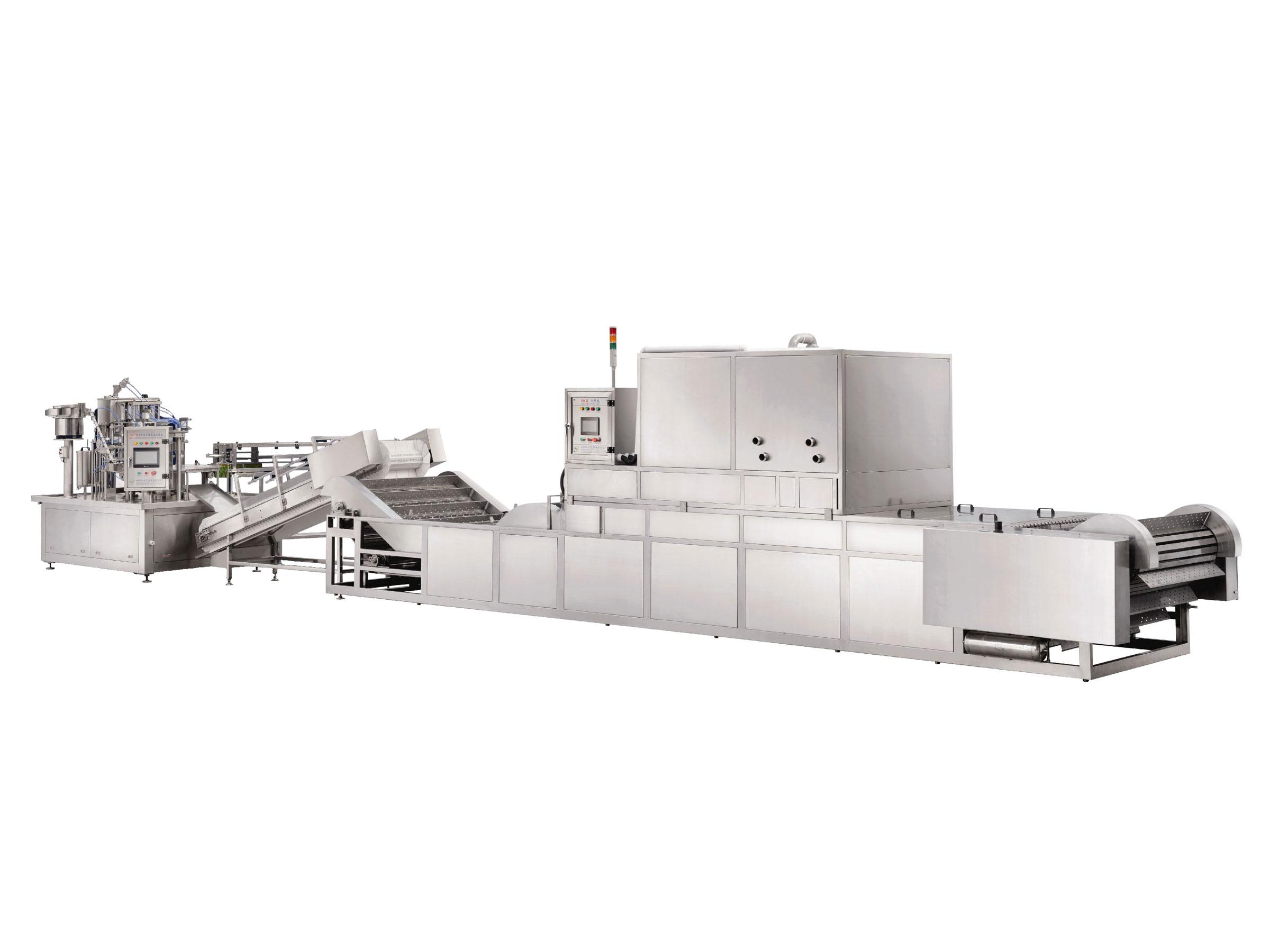 自立袋豆浆生产线