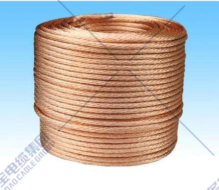 Flexible copper stranded conductor for electrical purpose
