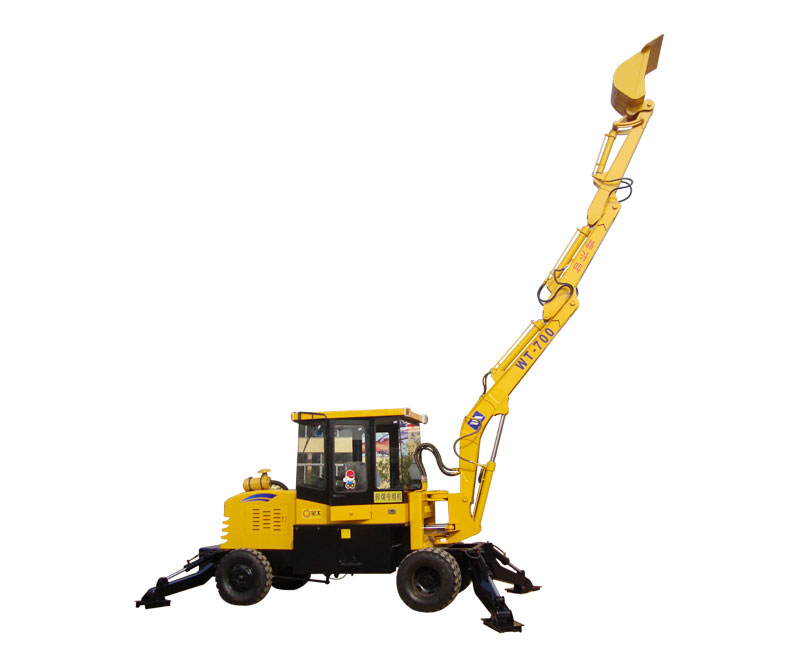Lengthened Boom Type Excavator