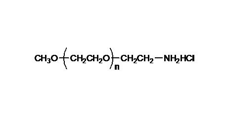 Methoxy PEG Amine, HCl Salt