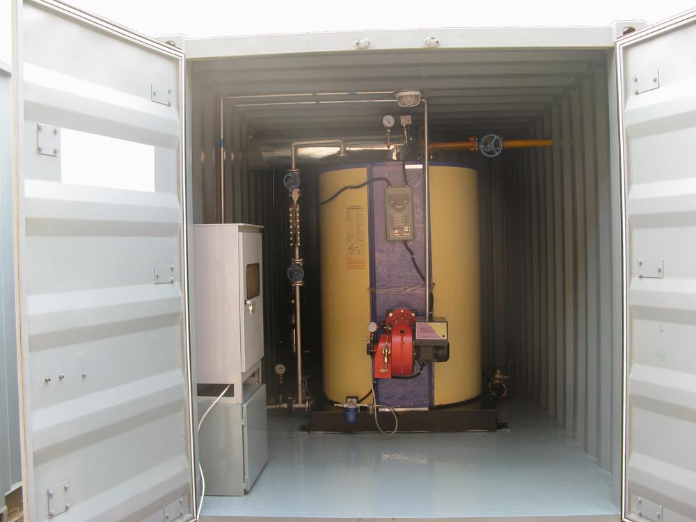 石油鉆機防凍加熱綜合裝置