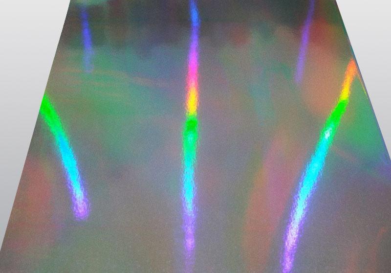 素面轉移鐳射銀卡