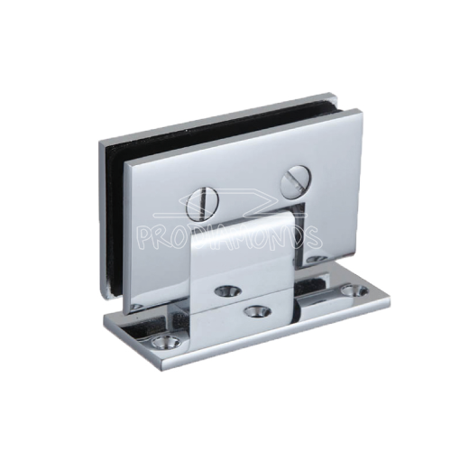 Square Glass Cut out Shower door Hinge