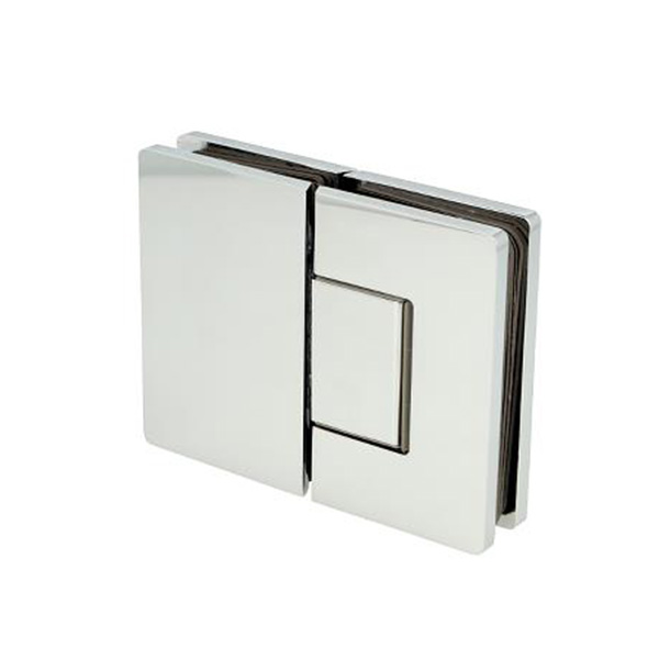 HIDDEN SCREW SHOWER HINGE 180 DEGREE GLASS TO GLASS