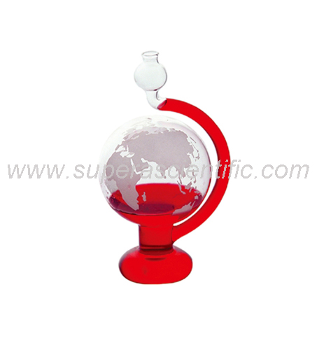 ES-308 Weather Globe Desktop Storm Glass Barometer
