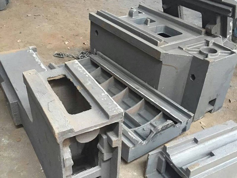 Casting machine body