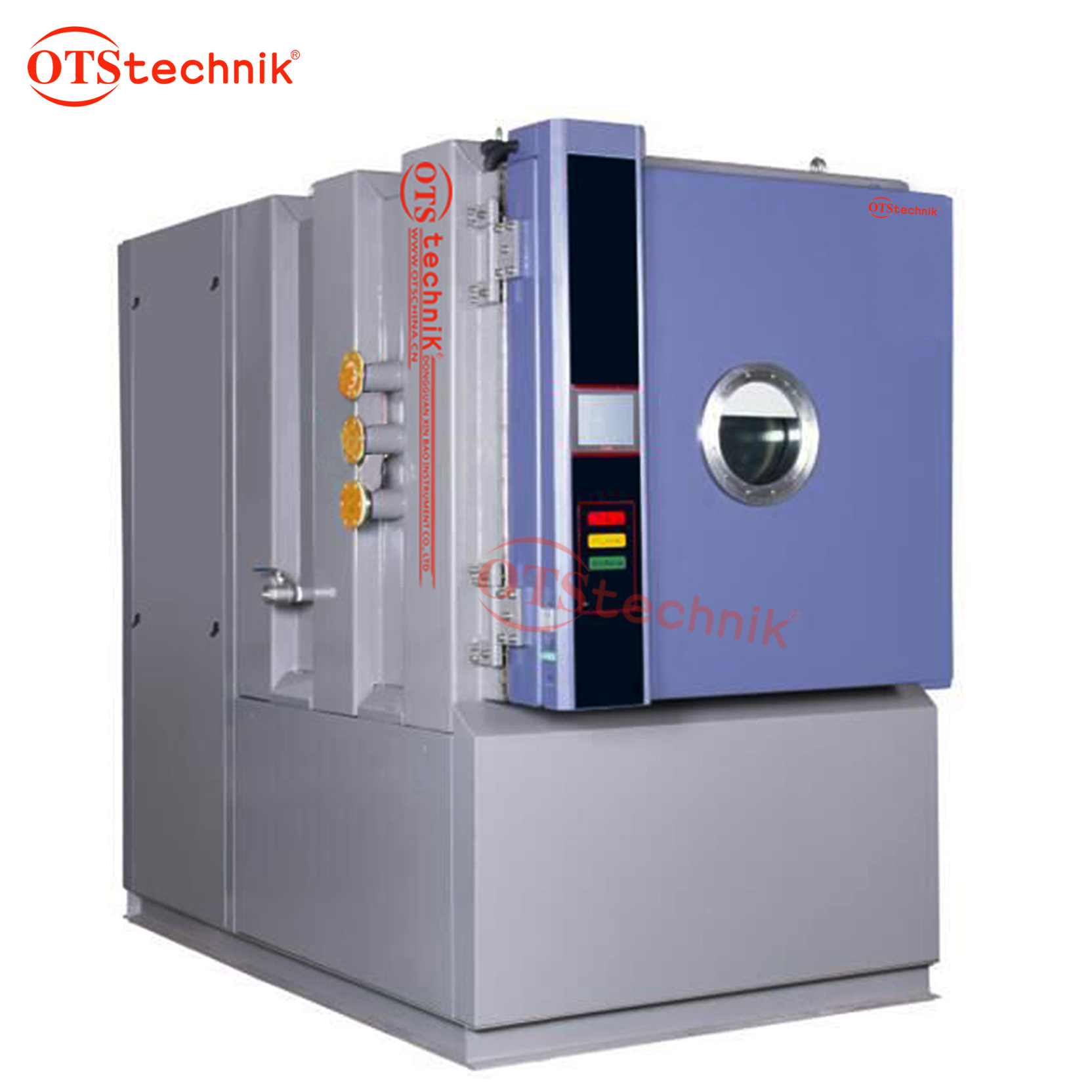 Low air pressure testing machine