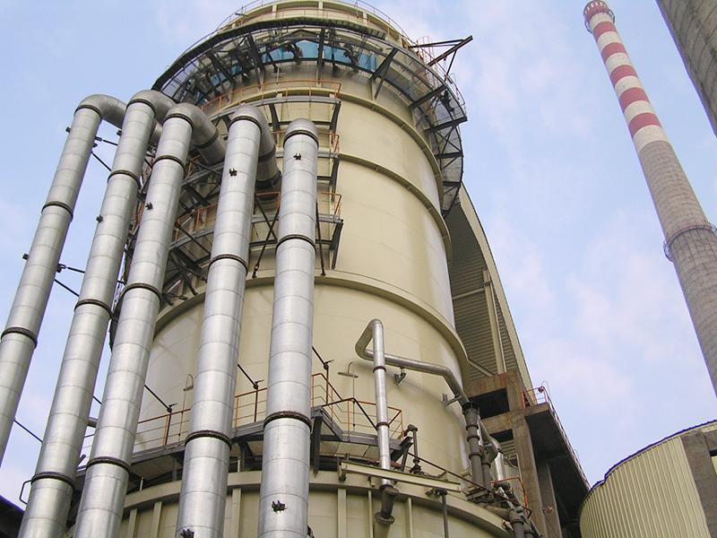 貴州黔東火電廠2×600MW機組脫硫島工程