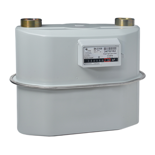 Industrial and commercial diaphragm gas meter