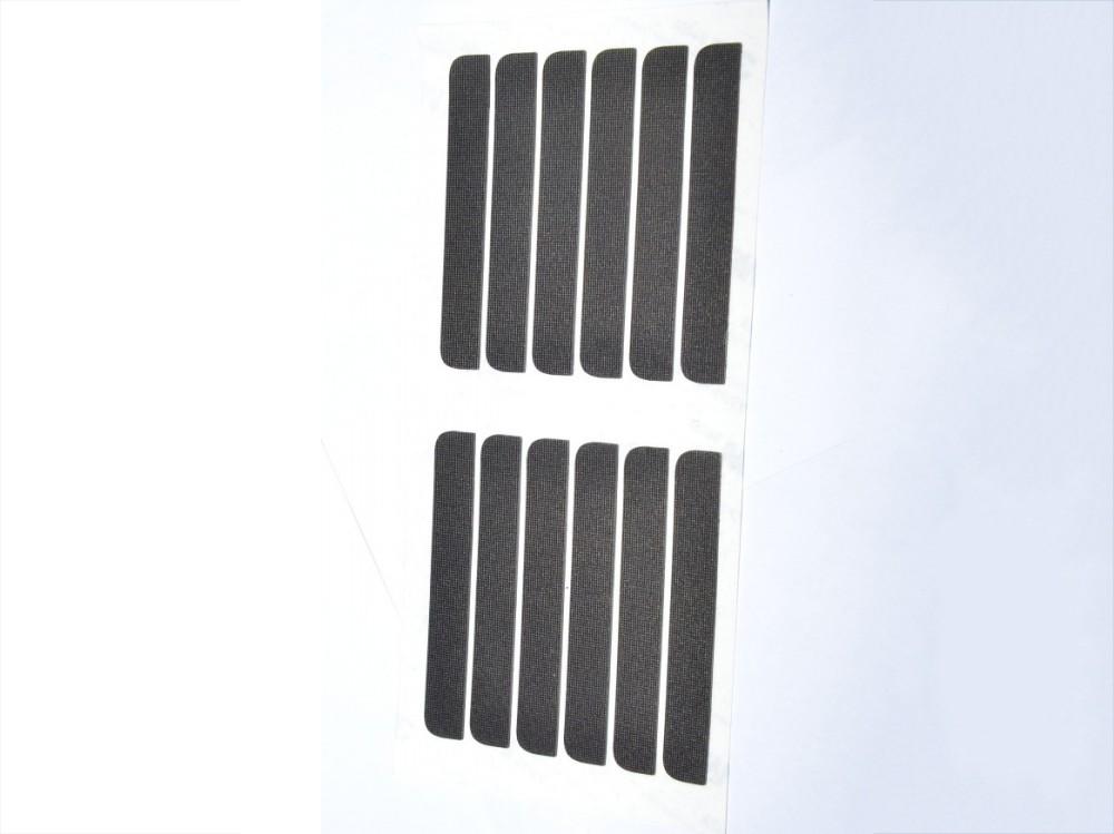 黑色鉆石紋硅膠墊