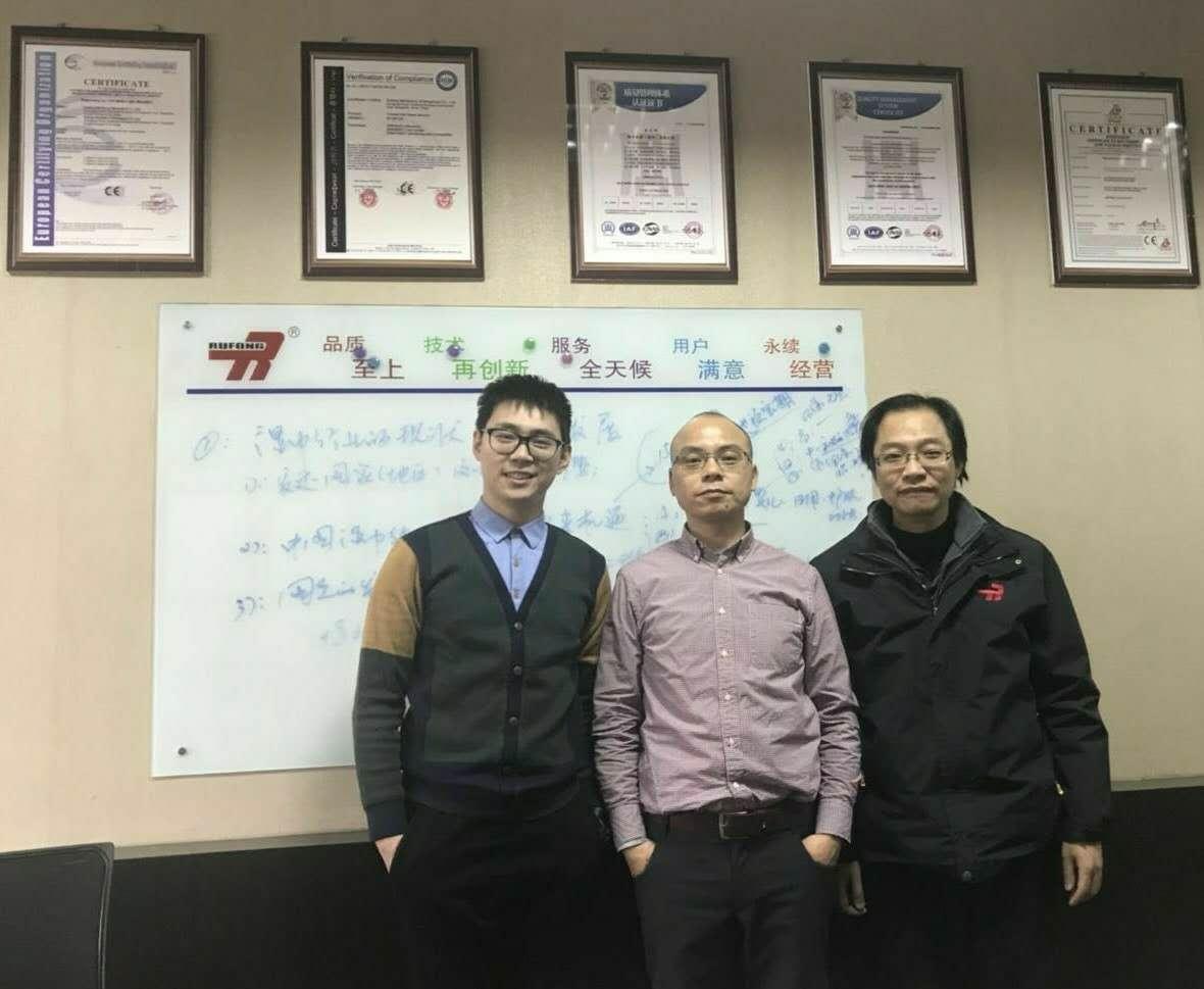 杭州国光客户莅临快三在线投注平台参观交流