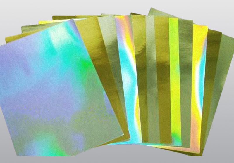 轉移鐳射金銀卡紙