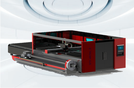 PLATE AND TUBE INTEGRATED FIBER LASER CUTTING MACHINE(HY-4020LA)