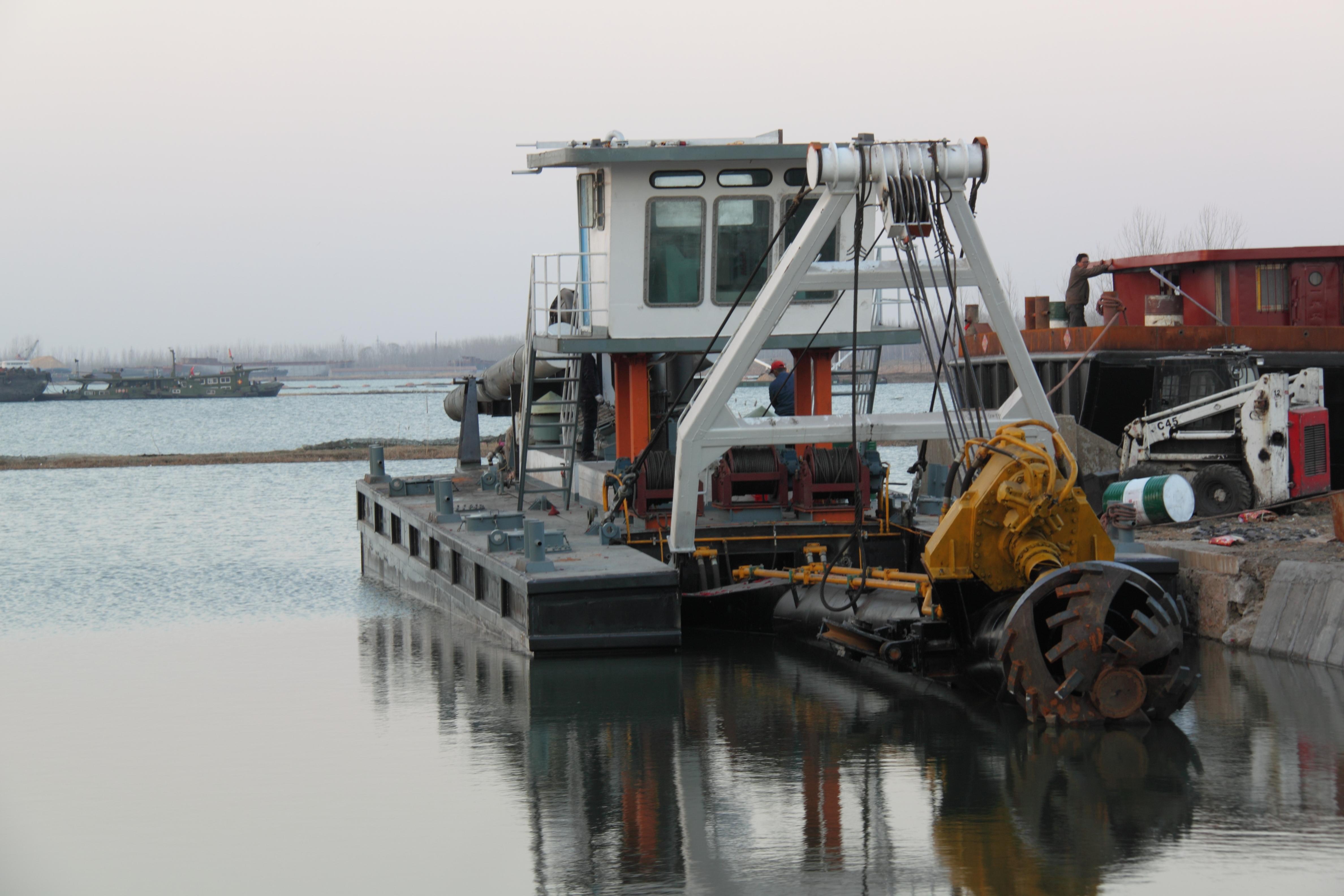 清淤船的用途