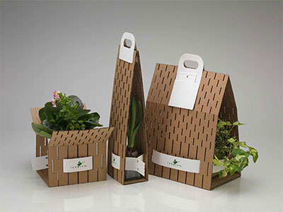 Creative fluting Carton Customized