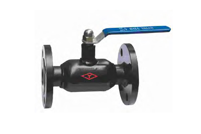 PN40、DN15-50 flange fully welded steel ball valve