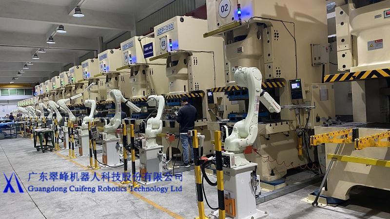 翠峰冲压应用:川崎RS020N+OCP200