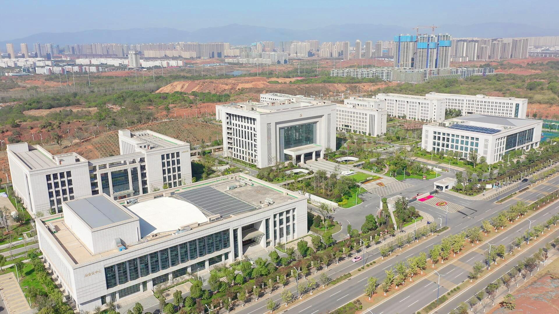 中共江西省委党校整体迁建中新校区1