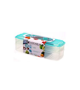 长方形存气盒2件套