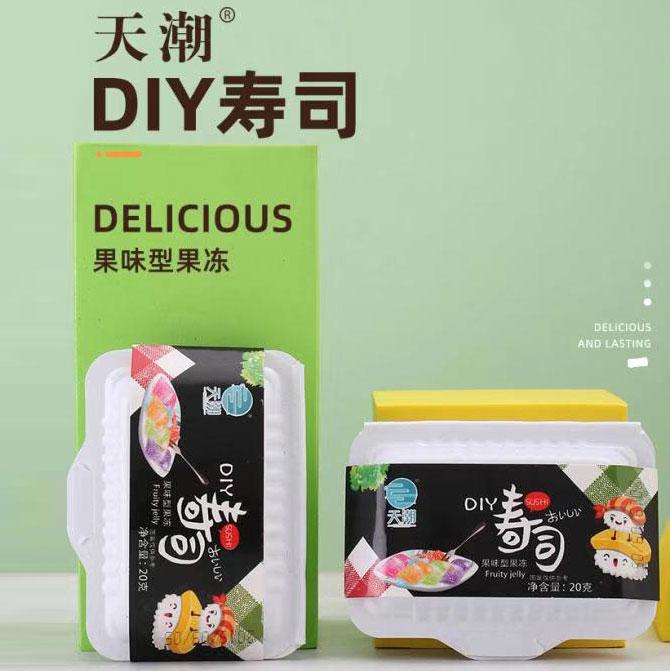 DIY壽司果凍 (什錦果味)