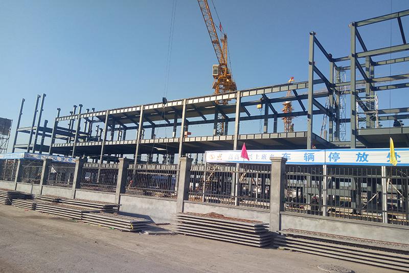 装配式钢结构学校工程