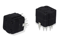 Six-direction output tilt detection sensor switch