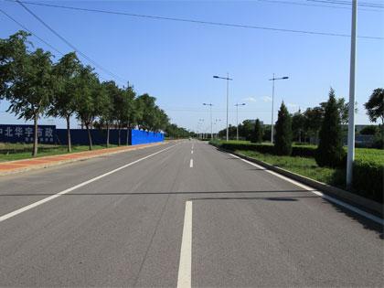 林河开发区道路