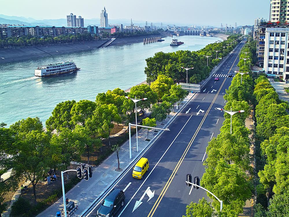 宜昌市沿江大道上段