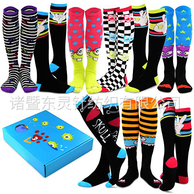 Dongling Special (Holiday) Women's Knee Socks 10 Double Gift Box
