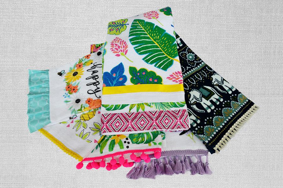 毛巾装饰花边
