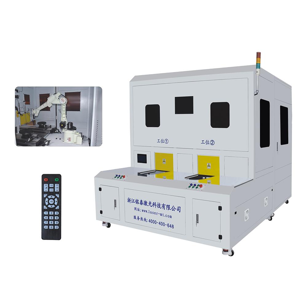全自動水泵葉輪光纖激光焊接站