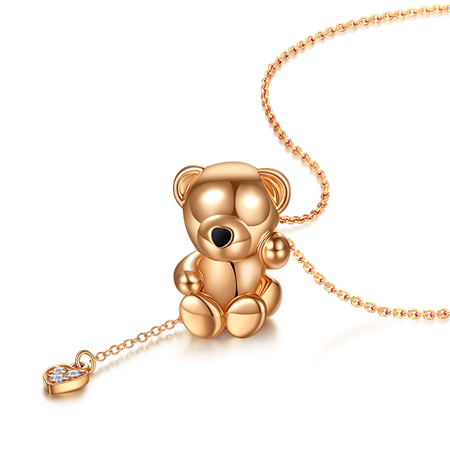 Amy bear pendant