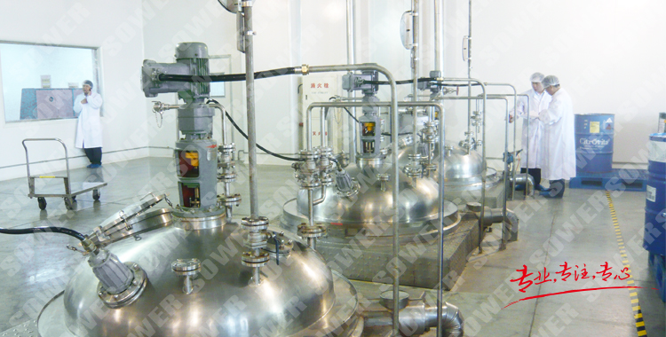 Flavor and spice production line