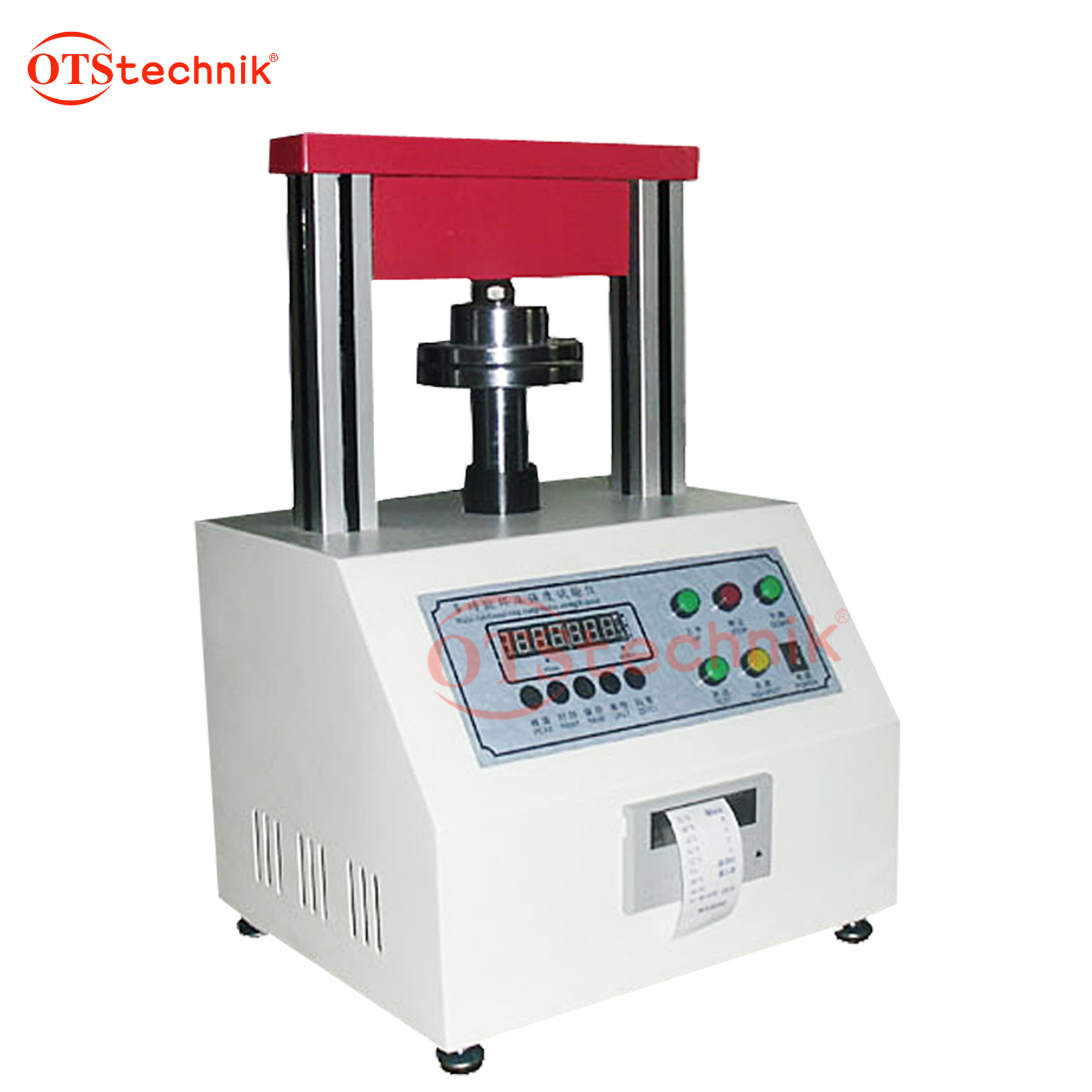 Cardboard edge strength testing machine